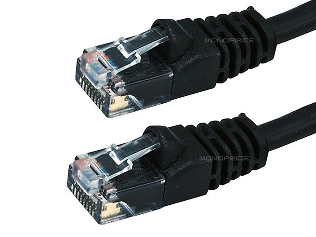 1FT Cat5e 350MHz UTP Ethernet Network Cable Black