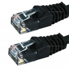 1FT Cat5e 350MHz UTP Ethernet Network Cable Black