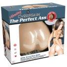 CyberSkin Vibrating Perfect Ass, Natural