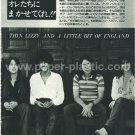 THIN LIZZY magazine clipping Japan 1977 [PM-100]