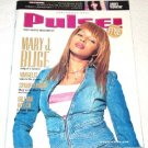 PULSE magazine USA #207 Mary J. Blige Gillian Welch + Sept. 2001 [PM-500]