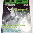 JUICE magazine Dec. 2002 GUITAR WOLF INCOGNITO Japan [PM-500]