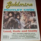 GOLDMINE #306 Motley Crue MC5 Anthrax Seattle Rock Scene Apr. 17, 1992 [SP-500]