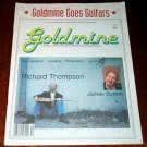GOLDMINE #292 Richard Thompson Rory Gallagher Link Wray Oct. 4, 1991 [SP-500]