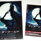 UNDERWORLD 4 movie flyers + promo sticker Japan [PM-100f]
