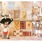 THE COLOUR OF POMEGRANATES Parajanov mini movie flyer Japan [PM-100f]