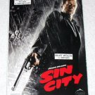 SIN CITY movie promo cards Frank Miller Robert Rodriguez Canada - Bruce Willis [PM-100f]