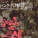 PUNK'S NOT DEAD Susan Dynner movie flyer Japan - Bad Religion Rancid Offspring Green Day [PM-100f]