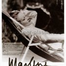 MARLENE DIETRICH: HER OWN SONG movie flyer Japan [PM-100f]