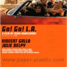L.A. WITHOUT A MAP Mika Kaurismäki movie flyer Japan #2 - Vincent Gallo [PM-100f]