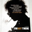 I'M NOT THERE BOB DYLAN Todd Haynes movie promo card Canada 2007 [PM-100f]