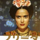 FRIDA Kahlo Julie Taymor Salma Hayek movie flyer Japan [PM-100f]