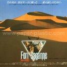 FORT SAGANNE movie flyer Japan - Sophie Marceau, Gérard Depardieu, Catherine Deneuve [PM-100f]