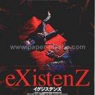 eXistenZ David Cronenberg movie flyer & sticker Japan [PM-100f]