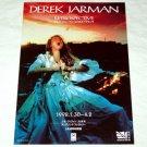 Derek Jarman Retrospective show movie flyer Japan 1998 [PM-100f]