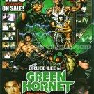 Bruce Lee GREEN HORNET DVD flyer Japan 2002 [PM-100f]