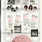 THE SUPREMES / BREAD Super Deluxe LP advertisement Japan 1972 [PM-100]