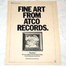 THE JAMES GANG Newborn LP advertisement USA [PM-100]