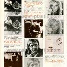 THE EVERLY BROTHERS NILSSON NANCY SINATRA LEE HAZLEWOOD LP advertisement Japan 1972 [PM-100]
