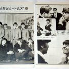 THE BEATLES magazine clipping Japan 1965 #3 - waxworks [PM-100]