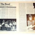 THE BAND magazine clipping USA 1976 [PM-100]
