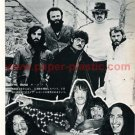 THE BAND / URIAH HEEP magazine clipping Japan 1972 #1 [PM-100]