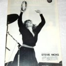 STEVIE NICKS magazine clipping Japan 1983 #2 [PM-100]