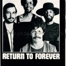RETURN TO FOREVER CHICK COREA AL DI MEOLA STANLEY CLARKE LENNY WHITE mag clipping Japan '75 [PM-100]