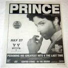PRINCE Musicology Tour advertisement Canada 2004 [SP-250t]