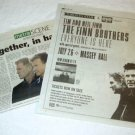 NEIL & TIM FINN BROTHERS show two clippings Canada 2004 [SP-250t]