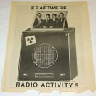 KRAFTWERK Radio Activity LP advertisement USA 1976 [SP-250t]