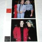 KIM WILDE magazine clipping Japan 1984 #2 + BOY GEORGE, SPANDAU BALLET [PM-100]