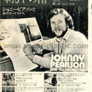 JOHNNY PEARSON Sleepy Shores LP advert Japan + SPINACH MIKE & MICHAEL CHELSEA FOOTBAL TEAM [PM-100]