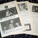 JEFF BECK magazine clipping Japan 1973 #7 + GRAND FUNK RAILROAD [PM-100]