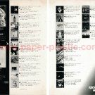 GEORGE HARRISON STEELY DAN PINK FLOYD HAWKWIND SILVERHEAD and more LP advert Japan 1973 [PM-100]