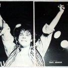 DAVID JOHANSEN NEW YORK DOLLS magazine clipping Japan 1982 [PM-100]