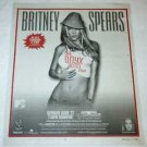 BRITNEY SPEARS The Onyx Hotel Tour magazine advertisement Canada 2004 [SP-250t]
