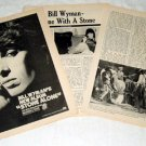 BILL WYMAN ROLLING STONES interview & LP advertisement USA 1976 [PM-100]