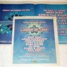 ARMIN VAN BUUREN DEEP DISH DEMI concert advertisements Canada 2005 [SP-250t]