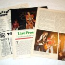 AEROSMITH interview & other magazine clippings USA 1976 [PM-100]