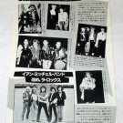 ADAM & THE ANTS fans / IAN MITCHELL magazine clipping Japan 1981 [PM-100]