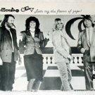 ABBA magazine clipping Japan 1981 #1 [PM-100]
