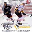 HOCKEY NHL PREDATORS VS. PENGUINS flyer Japan 2000 #1 [PM-200]