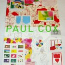 PAUL COX exhibition flyer Japan 2005 [PM-200]