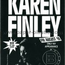 KAREN FINLEY postcard for NY performance in 1991 or 2002 [PM-100]