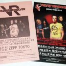 VELVET REVOLVER two tour & CD flyers Japan 2005 [PM-100f]