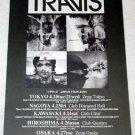 TRAVIS tour & CD flyer Japan 2004 [PM-100f]