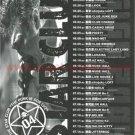 THE STAR CLUB two tour flyers Japan 2004 Japanese punk [PM-100f]