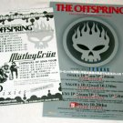 THE OFFSPRING two tour flyers Japan 2005 [PM-100f]