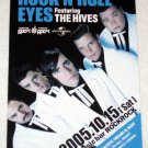 THE HIVES Rock 'n' Roll Eyes gig flyer Japan 2005 [PM-100f]